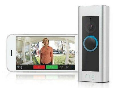 RING Pro Wi-Fi deurbel met camera