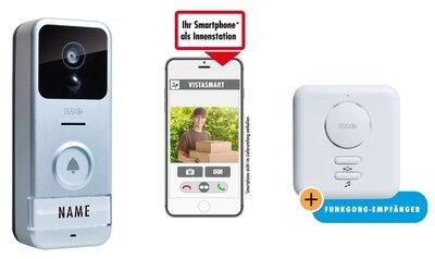 m-e VS-B10 Wi-Fi 720p deurbel met camera + ontvanger