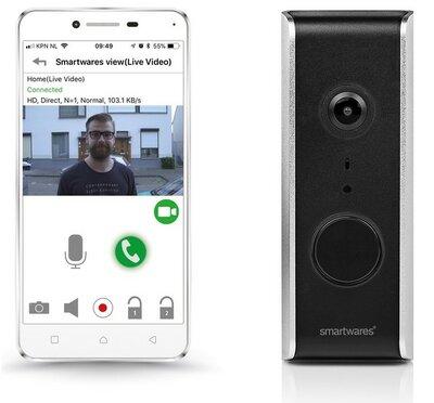 Smartwares DIC-23112 Wi-Fi 1080p deurbel met camera