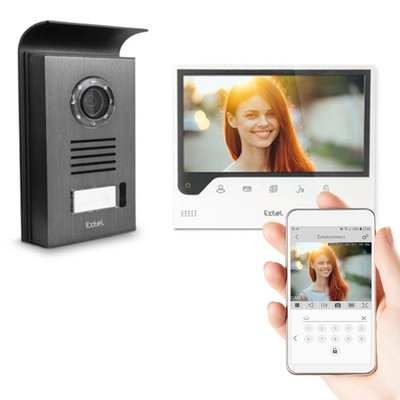 Extel Connect Wi-Fi deurbel met camera