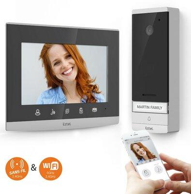 Extel Wave Wi-Fi draadloze deurbel met camera