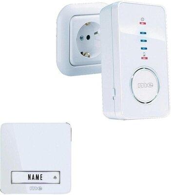 m-e BELL-220 oplaadbare deurbel