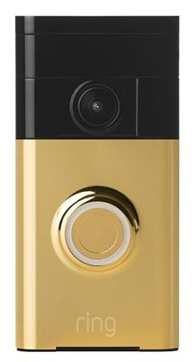 RING goud draadloze intercom met camera