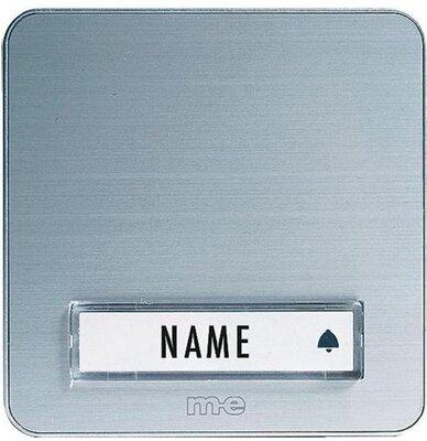 m-e KTA1AS deurdrukker aluminium