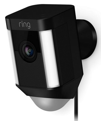 RING Spotlight Cam wired black