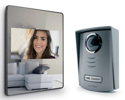Avidsen Luta 2 mirror intercom met camera