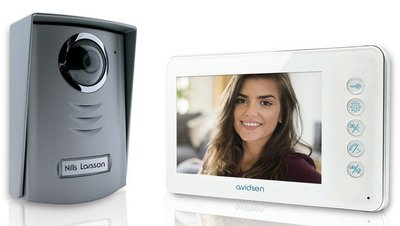 Avidsen Ylva 1+ wit intercom met camera