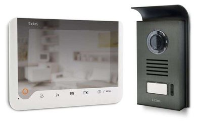 Extel Ice intercom met camera