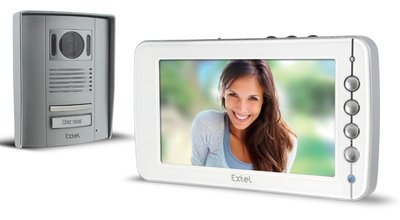 Extel Livia intercom met camera