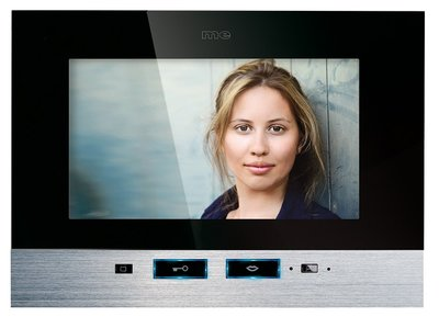 m-e Vistadoor Video VDV 707 TS Touch binnenpost 7 inch