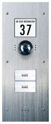 m-e Vistadoor Video VDV 820 inbouw buitenpost