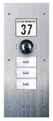 m-e Vistadoor Video VDV 830 inbouw buitenpost