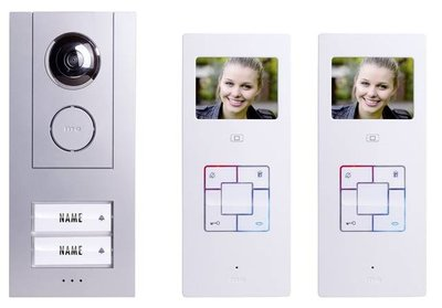 m-e Vistus VD 6320 intercom met camera