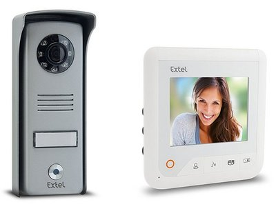 Extel Look wit intercom met camera