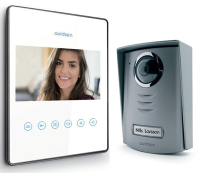 Avidsen Luta 2 wit intercom met camera