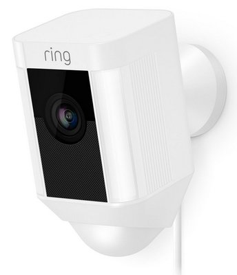 RING Spotlight Cam wired white