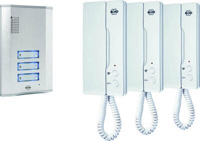 Smartwares IB63 intercom voor drie etages