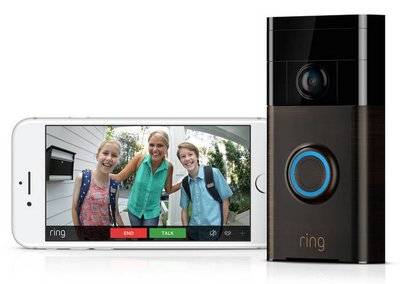 RING bronze Wi-Fi deurbel met camera