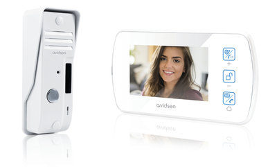 Avidsen 122132 intercom met camera