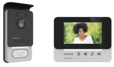 Philips WelcomeEye Compact intercom met camera