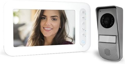 Avidsen Ylva 3 wit intercom met camera