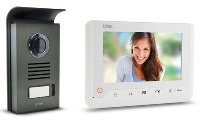 Extel Nova wit intercom met camera