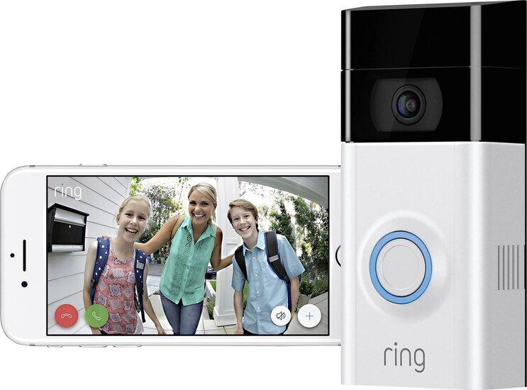 RING 2 draadloze intercom met camera