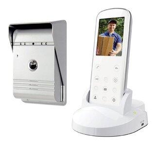 Smartwares VD36W draadloze intercom met camera