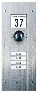 m-e Vistadoor Video VDV 840 inbouw buitenpost