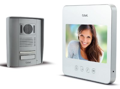 Extel Quattro² intercom met camera
