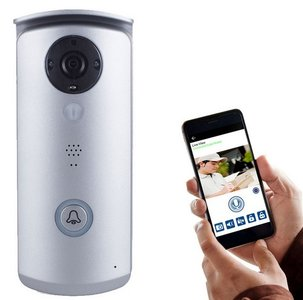 SecuFirst DID501 Wi-Fi deurbel met camera